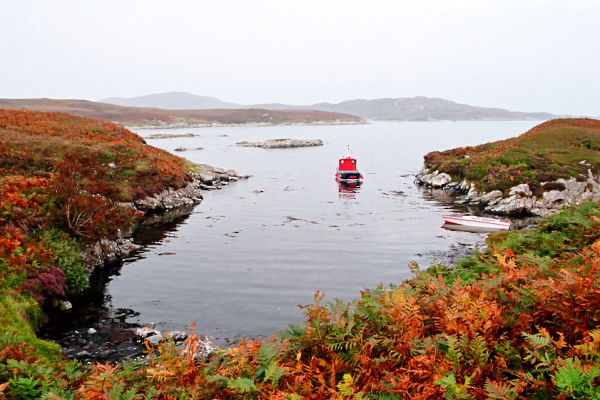 Trips to Benbecula and the Western Isles, Summer and Autumn 2005
